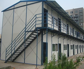 岩棉板钢结构活动房
